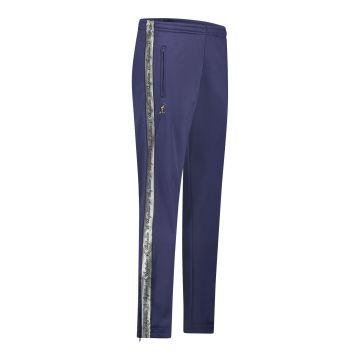 Australian pantalon avec bande argentée et 2 fermetures éclair 2.0 | bleu cosmo