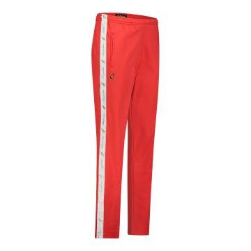 Australian pantalon avec bande blanche et 2 fermetures éclair 2.0   rouge