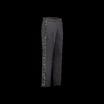 Australian broek slim fit met 2 ritsen en zwarte bies 2.0   antraciet