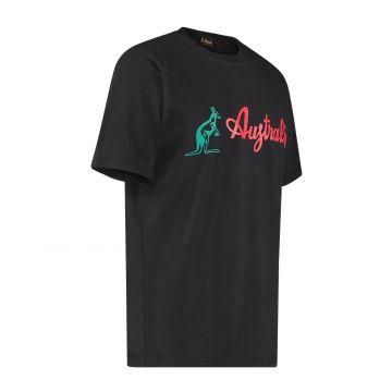 Australian T-shirt avec logo classique | noir
