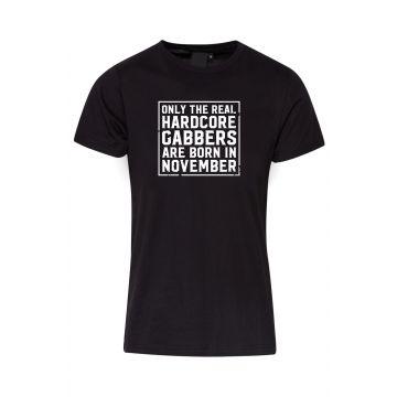 Hard-Wear T-shirt O.R.H.G.A Born In November | noir