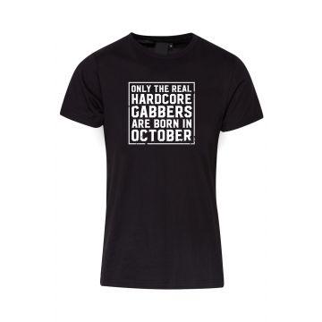 Hard-Wear T-shirt O.R.H.G.A Born In October | noir