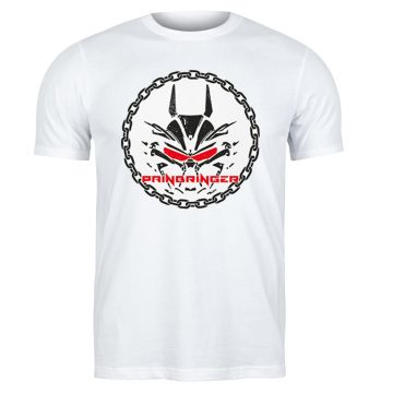 Painbringer T-shirt chained | blanc
