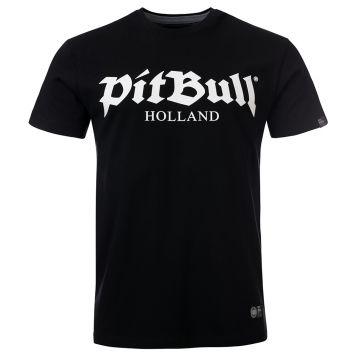 Pit Bull Holland T-shirt ancien logo | noir