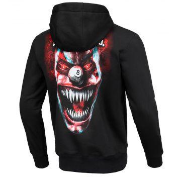 Pit Bull pull à capuche terror clown | noir