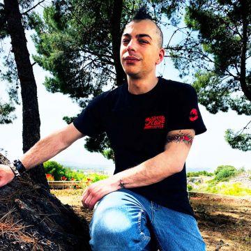 Speedcore Italia T-shirt SCIM-001 rode editie | zwart