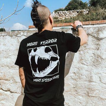 Speedcore Italia T-shirt SCIM-03 | zwart