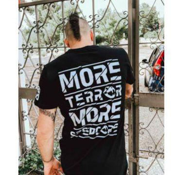 Speedcore Italia T-shirt more Terror more Speedcore! | noir