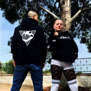 Speedcore Italia pull à capuche logo classique | noir