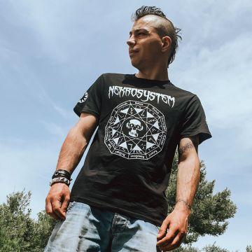 Speedcore Italia Nekrosystem T-shirt | zwart