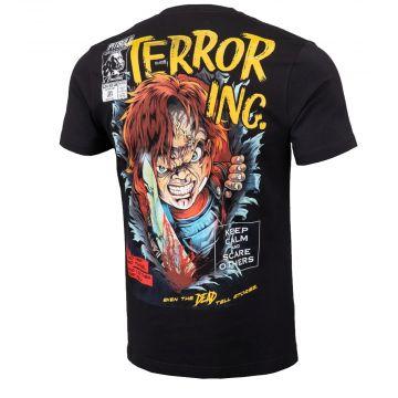 Pit Bull T-shirt scare | noir