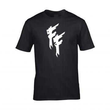 Frantic Freak t-shirt basic | logo zonder tekst ☓ zwart