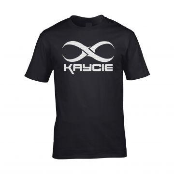 DJ Kaycie T-shirt logo | noir