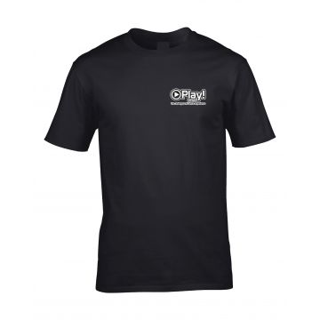 Play! Events T-shirt conception 2 | noir