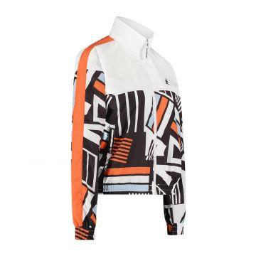 Australian sportswear veste de survêtement pour femmes imprimée sur fond blanc