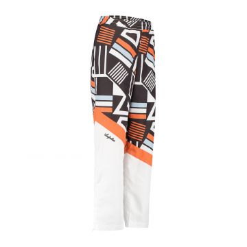 Australian sportswear pantalon de jogging pour dames haut de la jambe entièrement imprimé bas de la jambe blanc