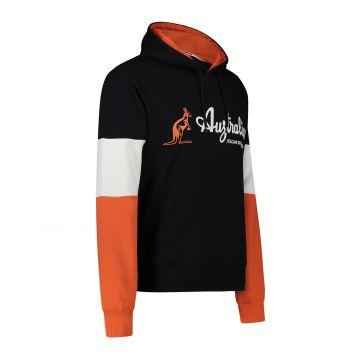 Australian Sportswear pull à capuche bloc tricolore