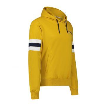 Australian sportswear pull à capuche patchs de bras bleu jaune | jaune moutarde