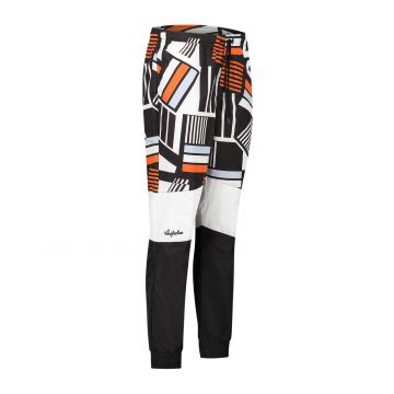 Australian sportswear pantalon de jogging imprimé haut de la jambe noir blanc bas de la jambe