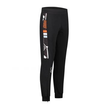 Australian sportswear pantalon de jogging avec bande imprimé abstrait   noir