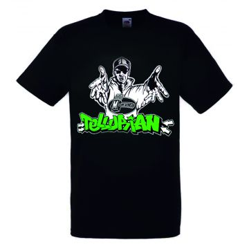 Tellurian T-shirt logo