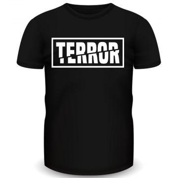 Terror T-shirt 3X | zwart