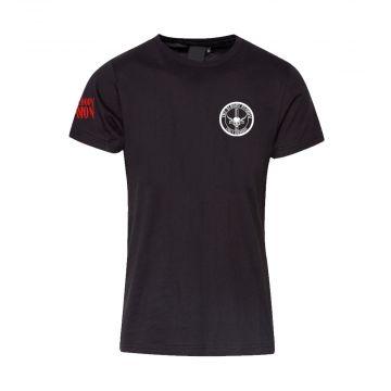 The Bloody Deamon logo vertical au dos | noir