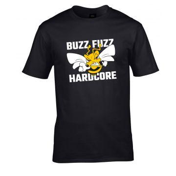Buzz Fuzz T-shirt Logo | noir