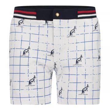 Australian kids korte broek stripes | wit