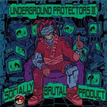 Vinyl Underground protectors III - socially brutal product