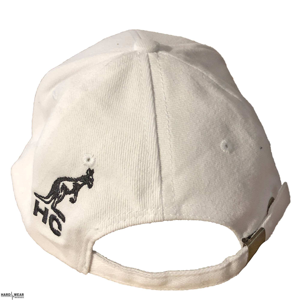 Australian Hard Court casquette oeuvre sourire | blanc