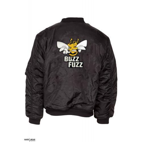 Buzz Fuzz (EXCLUSIF) bomberjack logo brodé   noir