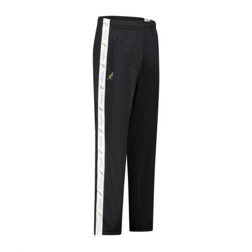 Australian pantalon avec bande blanche et 2 fermetures éclair 2.0   noir