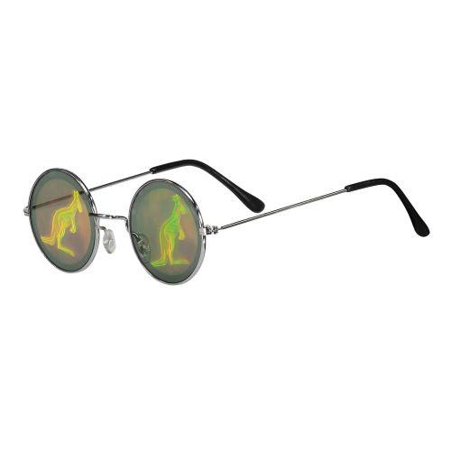 Hard-Wear lunettes gabber hologramme Australian